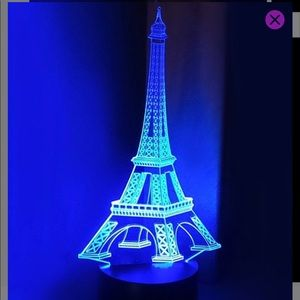 Other - Eiffel Tower LED Lamp